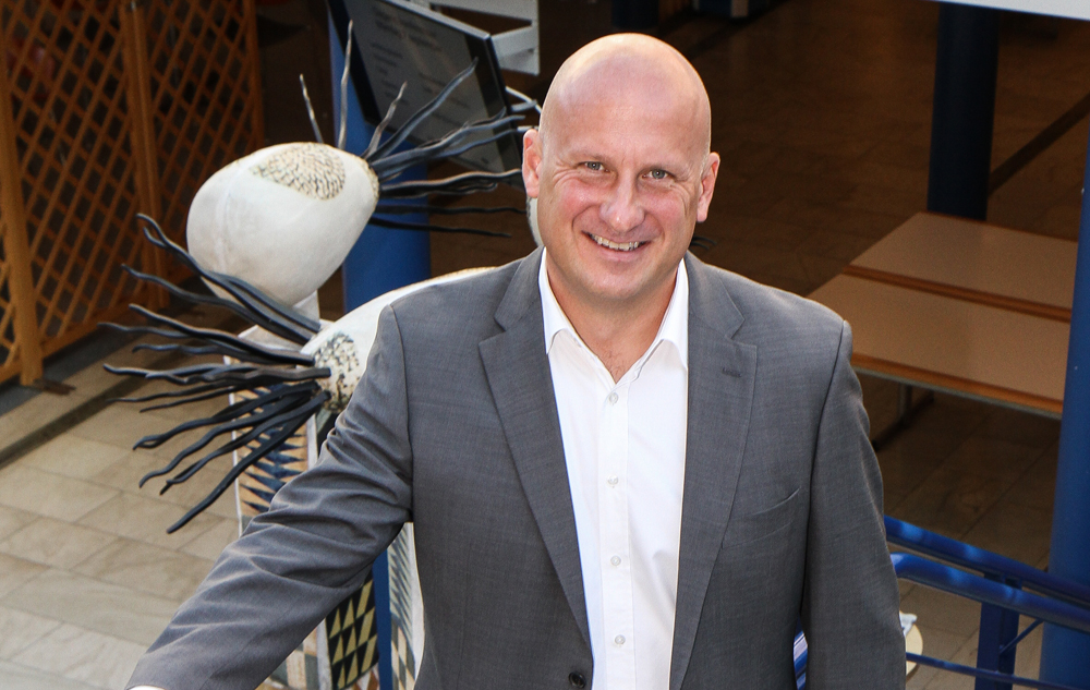 Lars Almroth, ny chef över Blekingesjukhuset.