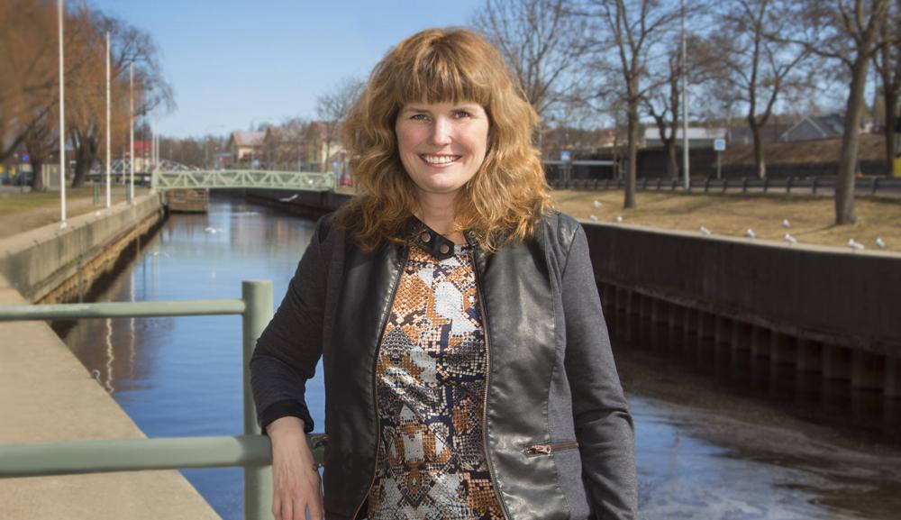 Anna Svensson, ST-läkare och läkarchef inom vuxenpsykiatrin. Foto: Yvonne Ekholm