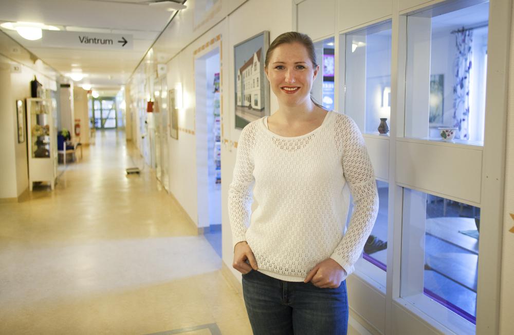 Larisa Åbom, ST-läkare vid Din Hälsocentral, Ljusdal-Ramsö. Foto: Lars Lööv