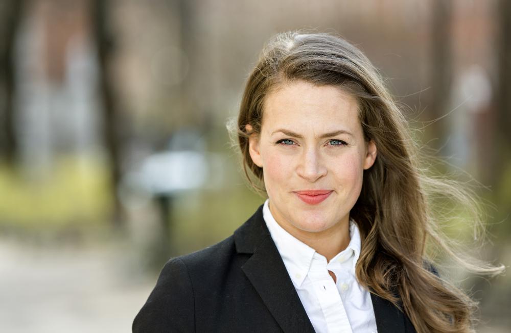 Sara Carlqvist, AT-läkare i Kalmar. Foto: Gonzalo Irigoyen