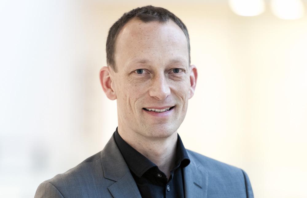 Thue Johansen, läkare och direktör, Novo Nordisk. Foto: Per Fledelius