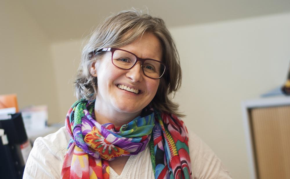 Sara Beckman Ewert, distriktsläkare och chef för Vårdcentralen Getinge. Foto: Josefin Gustafsson