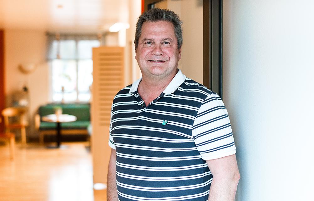 Bjarne Paulsson, företagsläkare på Avonova. Foto: Martin Frick