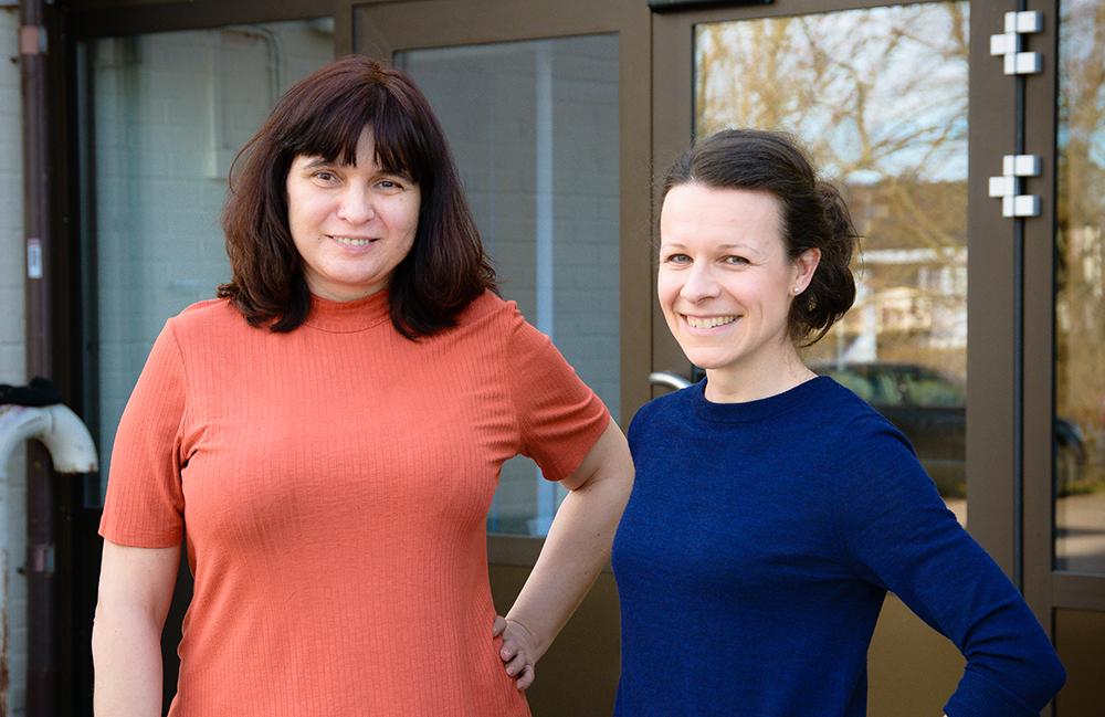 Ursula Tomczyk, överläkare och Malin Lydén, ST-läkare på Länssjukhuset i Kalmar. Foto: Magnus Johnson / Frilansfotograferna