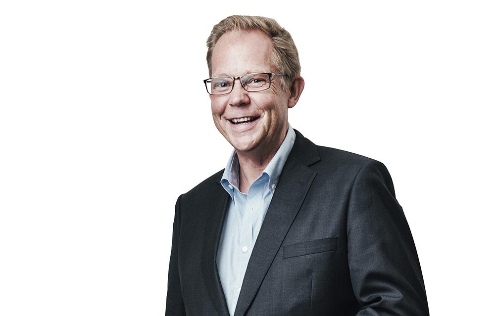 Ola Björgell, vetenskaplig sekreterare i Svenska Läkaresällskapet. Foto: Samuel Unéus