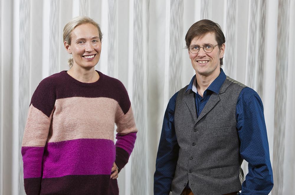 Anja Fernqvist, överläkare och gruppchef inom rättspsykiatrin och Anton Mittendorf, rättsläkare på RMV i Göteborg.