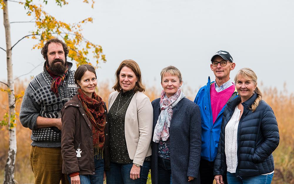 Teamet på Trosa vårdcentral trivs med den positiva stämningen. Foto: Christian Boo