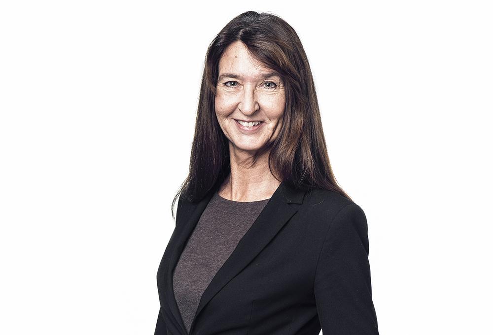 Britt Skogseid, ordförande i Svenska Läkaresällskapet. Foto: Samuel Unéus