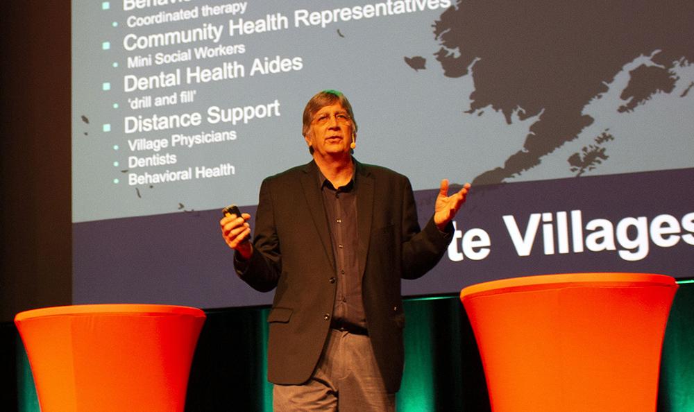 Douglas Eby, Southcentral foundation. Foto: Närhälsan/VGR