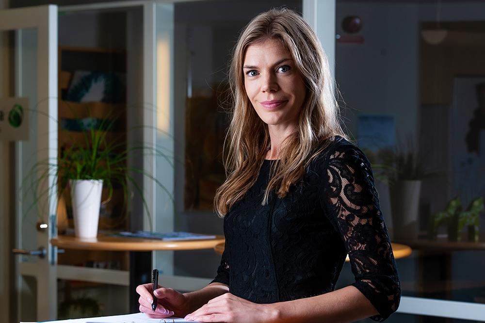 Charlotta Wigander, specialist i arbets- och miljömedicin. Foto: Martin Roth