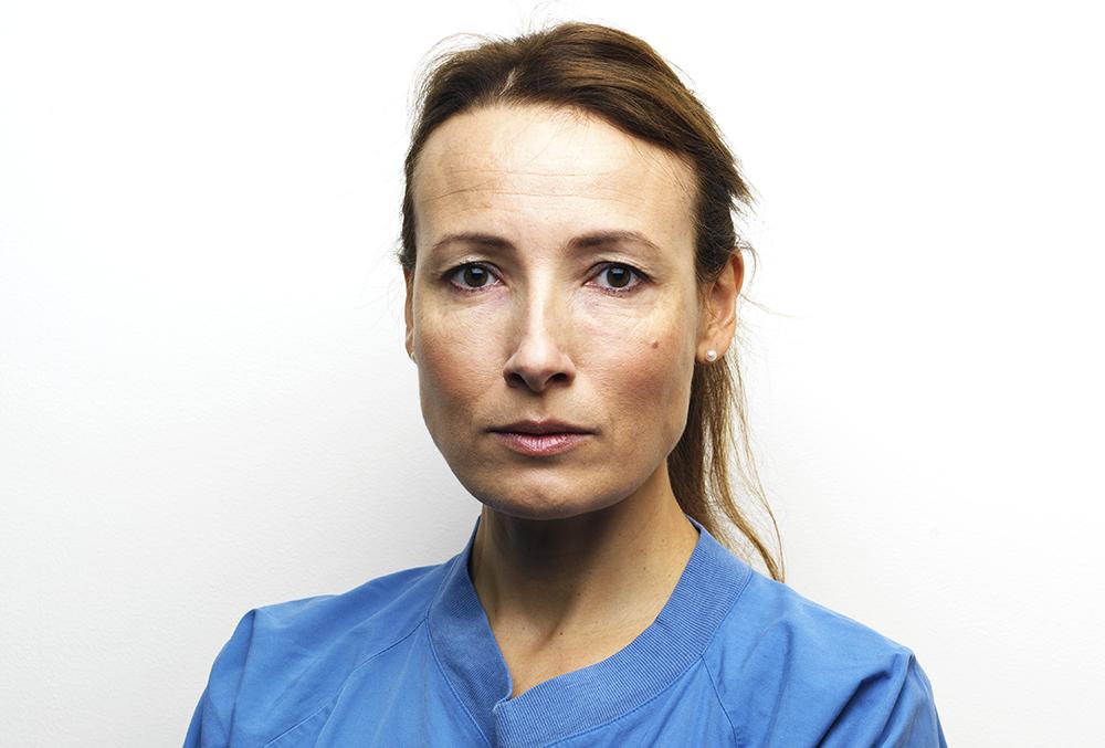 Heidi Stensmyren, ordförande för Läkarförbundet. Foto: Johan Knobe
