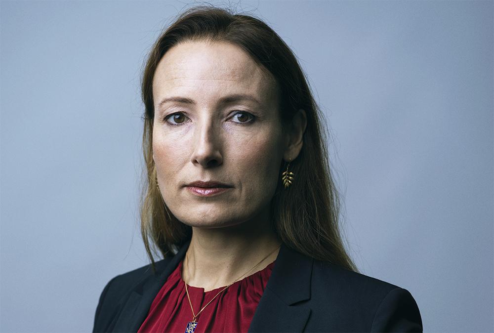 Heidi Stensmyren, ordförande för Sveriges Läkarförbund. Foto: Johan Knobe