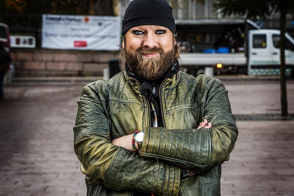 Rickard Söderberg, operasångare och artist. Foto: Janne Danielsson/SVT