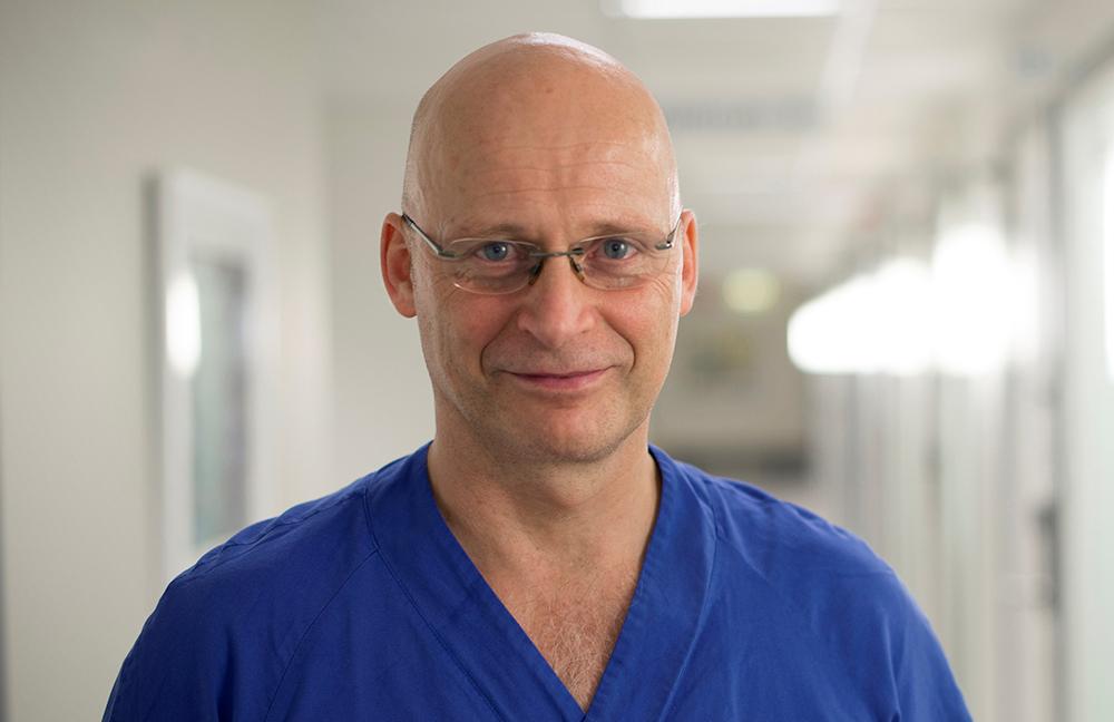 Christer Rosenberg, specialist i allmänmedicin. Foto: Sergio Joselovsky