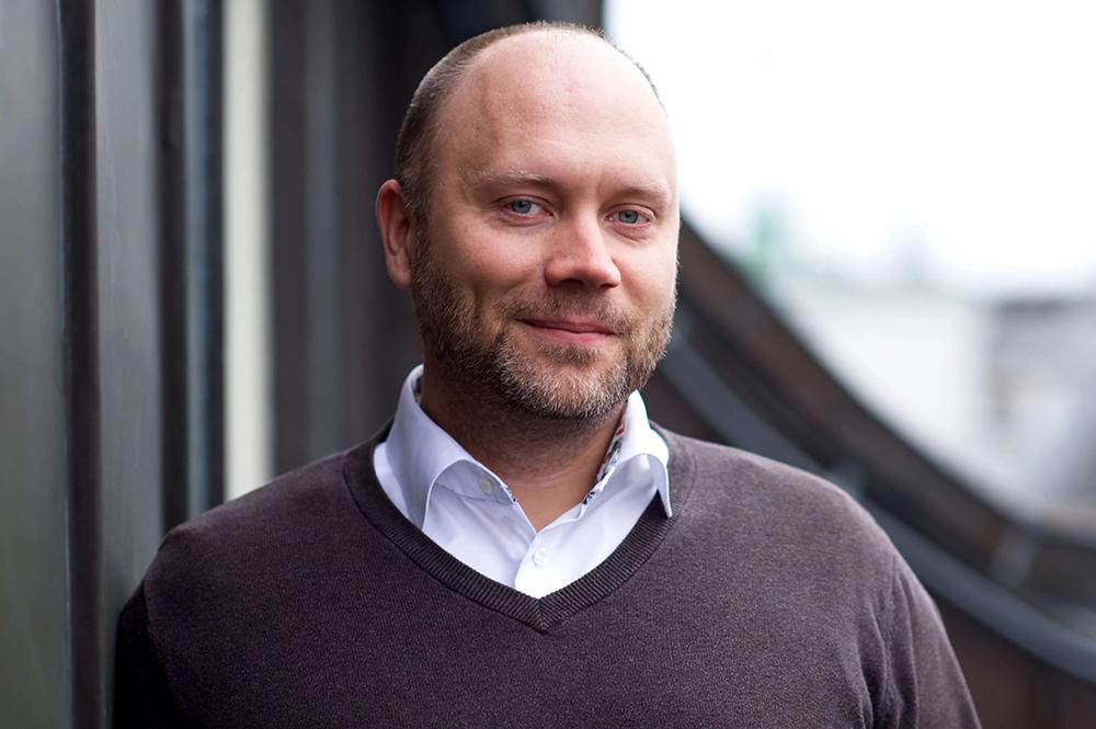 Tobias Perdahl, medicinsk chef för Doktor24. Foto: Doktor24