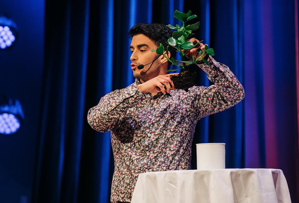 Keivan Javanshiri vid Lunds universitet vann forskarnas Grand Prix i höstas. Foto: Erik Cronberg