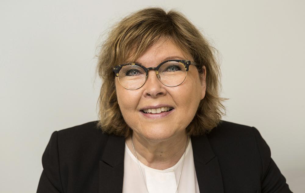 Torun Hall, chef för Nära vård och hälsa i Region Uppsala. Foto: Staffan Claesson