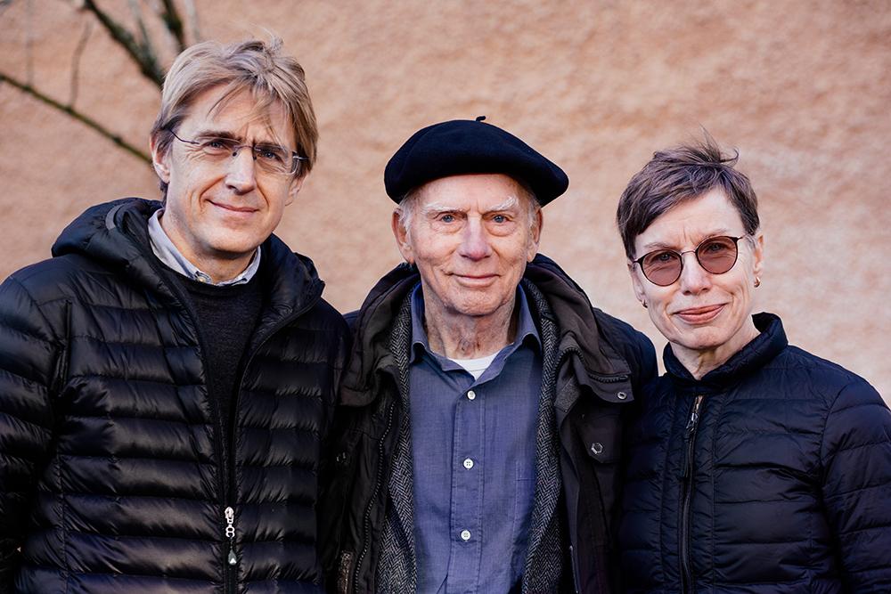 Pontus Strålin, Johan Cullberg och Maria Skott har tillsammans skrivit en ny bok om psykos. Foto: Appendix fotografi