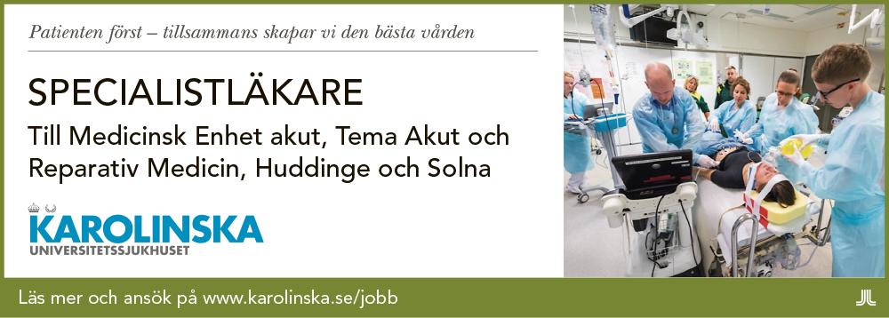Karolinska annons