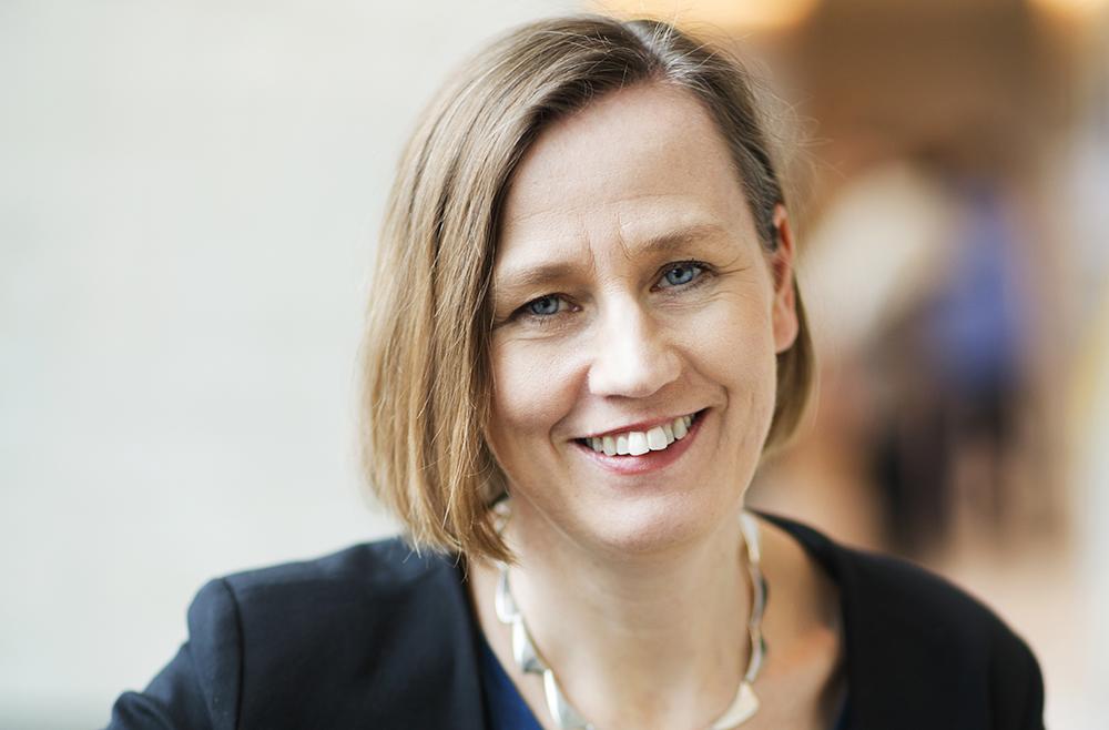 Sofia Ernestam, verksamhetschef på Akademiskt Specialistcentrum i Stockholm.