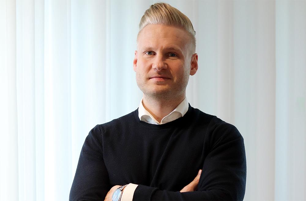 Dennis Höjer, vd på Evimeria.