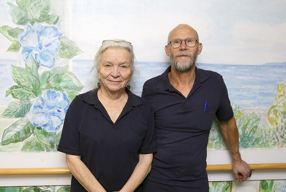 Elisabeth Lauri och Bengt Forssman, specialister i allmänmedicin på hälsocentralen i Ockelbo. Foto: Pernilla Wahlman