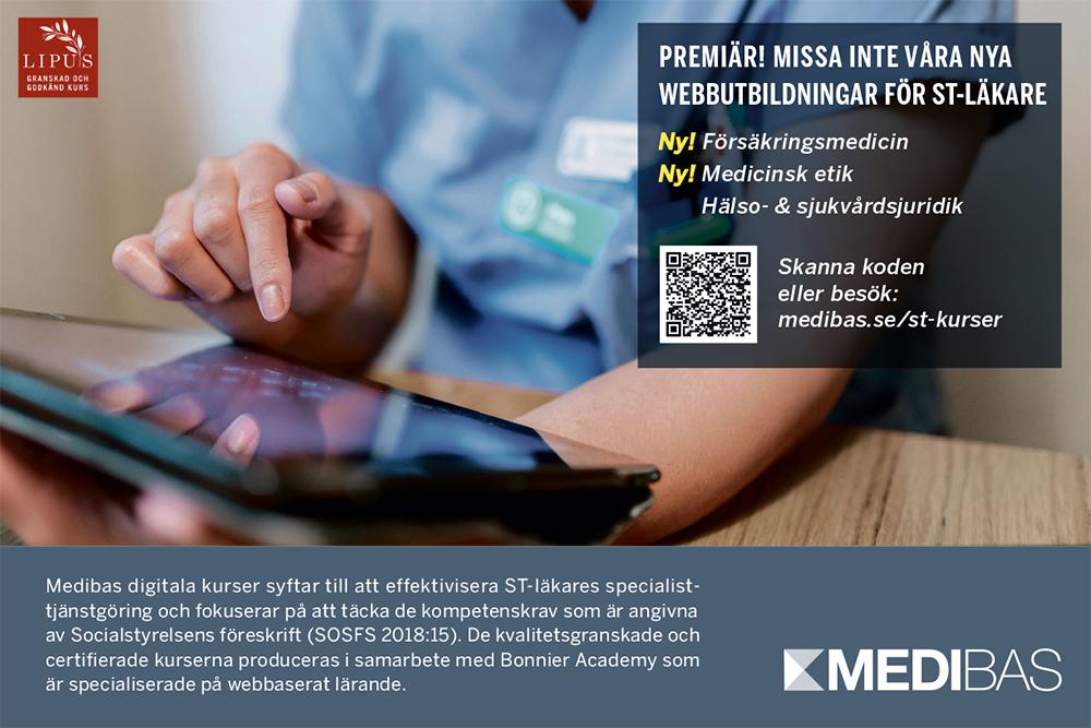 Medibas annons
