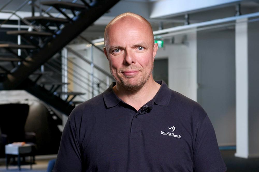 Kenneth Ilvall, chefsläkare och specialistläkare i allmänmedicin på MediCheck.