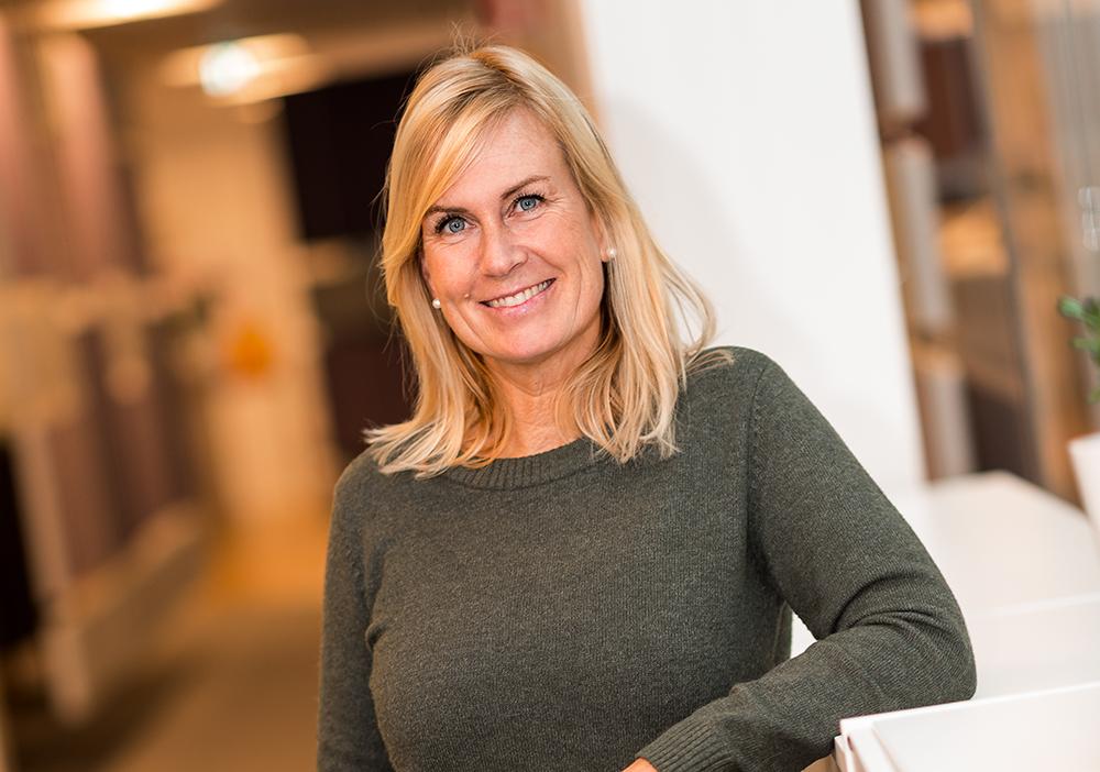 Anna-Carin Bring, studierektor för ST-läkare. Foto: Dan Pettersson / DP-Bild