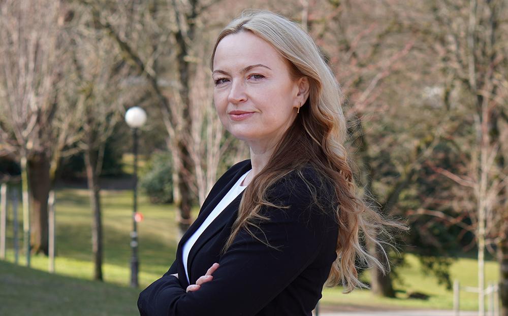 Sonata Ilciukiene gör sin ST i arbetsmedicin hos Avonova i Göteborg. Foto: Nrsstudios
