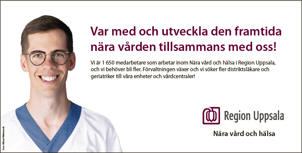Region Uppsala annons